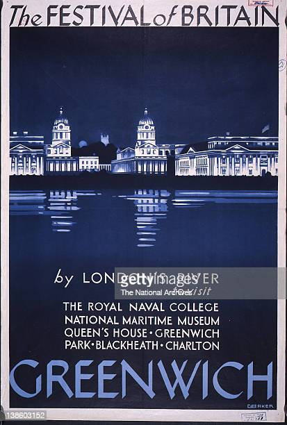 Publicity for Greenwich in association with the Festival of Britain 1951