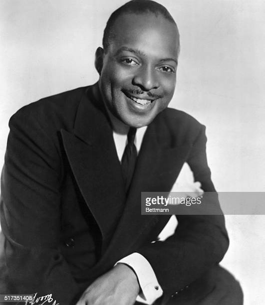 Count Basie American composer conductor and one of the ouststanding big band leader in jazz history Depicted in this undated Publicity handout...