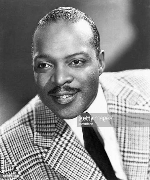 Publicity handout of Count Basie pianist and composer one of outstanding organizers of big bands and jazz history Depicted in this undated...