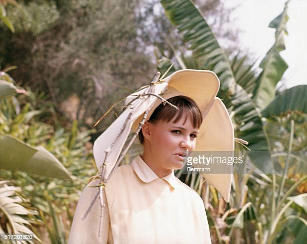 Publicity handout of Sally Field star of the television series The Flying Nun which aired from 19671970