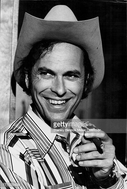 A publicity headshot of actor Rip Torn as he appears in the movie 'Payday' 1973