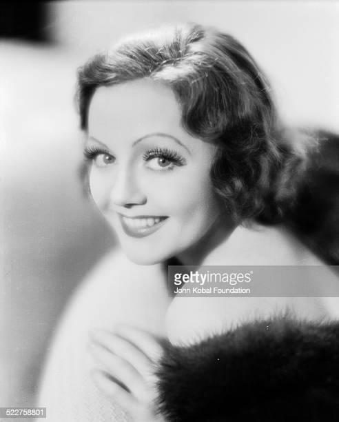 Publicity headshot of actress Nancy Carroll taken in New York 1926