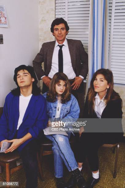 Publicity photo for the CBS Schoolbreak Special '15 and Getting Straight ' 1989 This madefortv movie features American actors David Birney Corey...