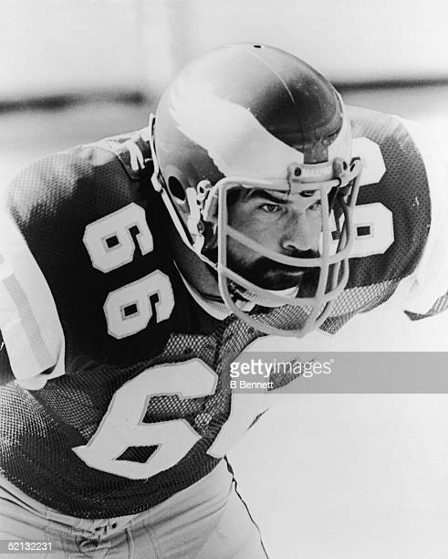 Publicity photo of American football player Bill Bergey, linebacker for the Philadelphia Eagles, late 1970s