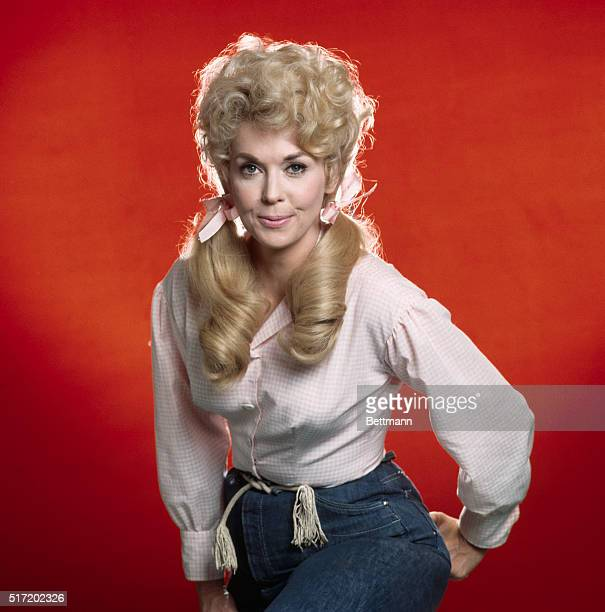 Publicity photo of Donna Douglas as Elly May Clampett from The Beverly Hillbillies