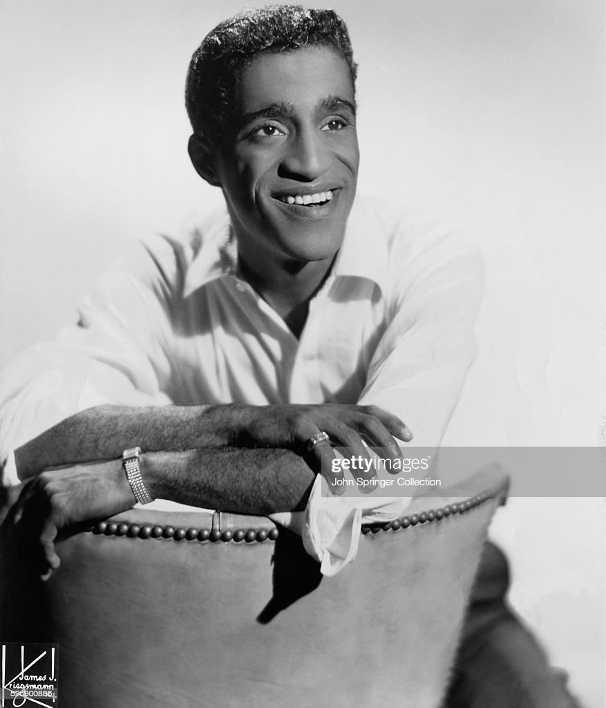 Publicity photo of Sammy Davis Jr.(1925-1990), American singer, dancer and entertainer. Undated photograph.