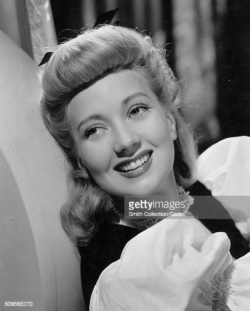 A publicity photograph of Ann Sothern an American actress who performed on stage radio television and film her career began in the 1920s and ended in...