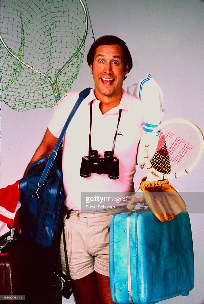 Chevy Chase In 'National Lampoon's Vacation' : News Photo