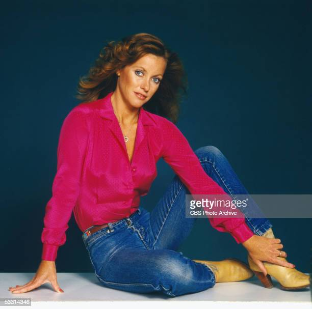 Publicity portrait of American actress Kim Lankford for the TV soap opera series 'Knots Landing' July 1980