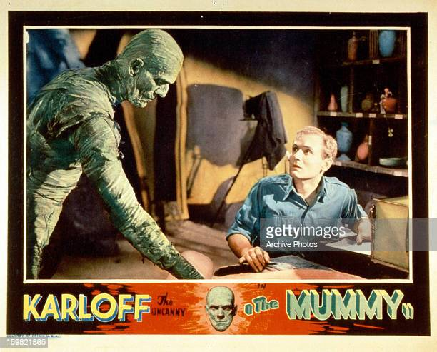A publicity poster from the film 'The Mummy' 1932