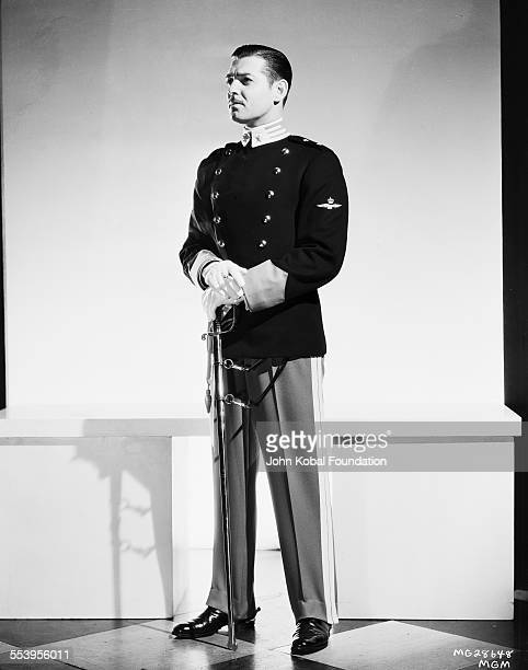 A publicity shot of American actor Clark Gable as Giovanni Severi in the MGM film 'The White Sister' 25th January 1933