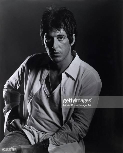 Publicity shot of American film and stage actor Al Pacino, circa 1980.