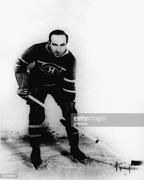 Publicity shot of Canadian hockey player Howie Morenz of the Montreal Canadiens 1930s