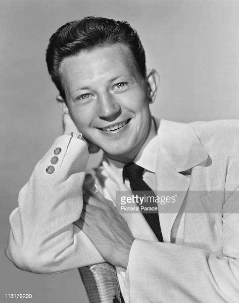 Publicity still of American actor Donald O'Connor for the 1952 film 'Francis Goes to West Point'