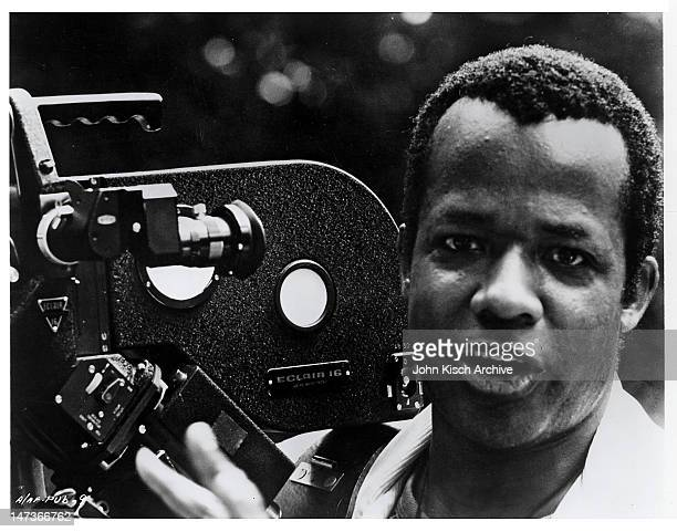 Publicity still of director and actor William Greaves from his documentary on Muhammad Ali 'Ali the Man Ali the Fighter' 1974