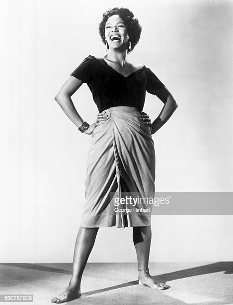 Publicity still of Dorothy Dandridge as Carmen Jones.