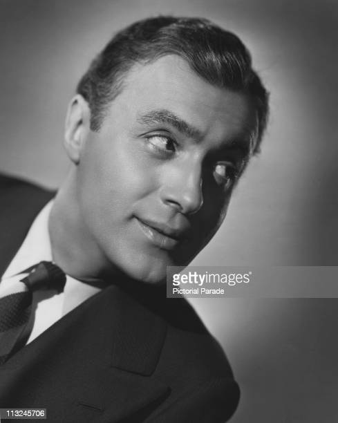 Publicity still of French actor Charles Boyer for the 1935 film 'Break of Hearts'