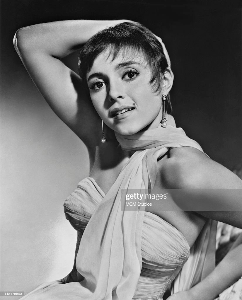 Publicity still of French actress and dancer Liliane Montevecchi in the mid 1950's.