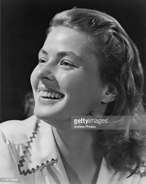 Publicity still of Swedish actress Ingrid Bergman who is to appear in RKO Radio's 'After the Storm' in 1945.