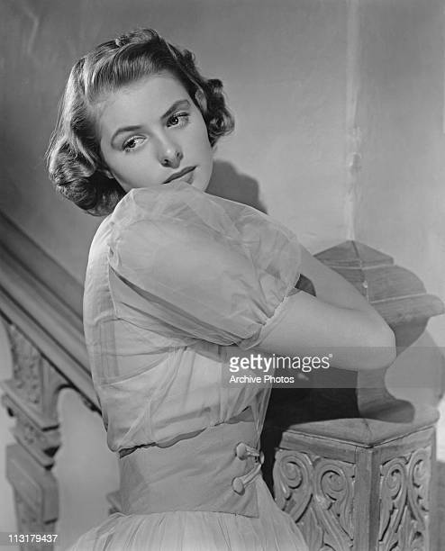 Publicity still of Swedish actress Ingrid Bergman who is to appear in the film 'Rage in Heaven' in 1941