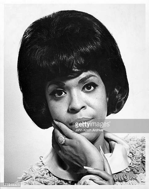 Publicity still portrait of American actress and singer Della Reese 1958