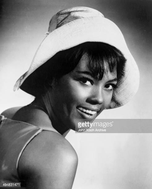 Publicity still portrait of American actress Janet Dubois in the Broadway stage play 'Golden Boy' 1964