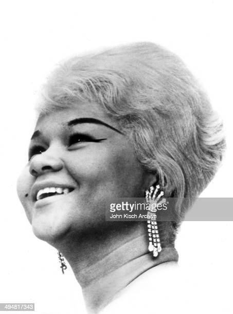 Publicity still portrait of American singer Etta James 1962