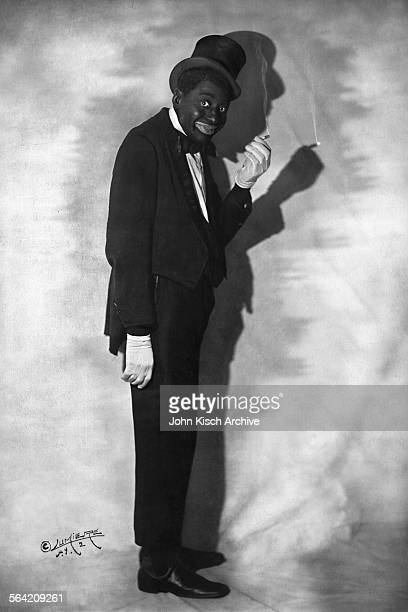 Publicity still portrait of American stage actor and Vaudeville comedian Bert Williams 1915