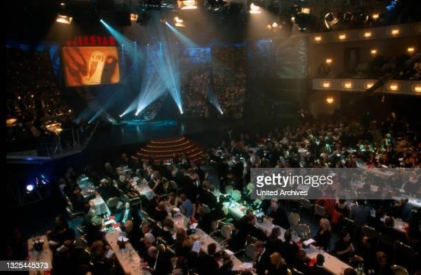 Publikum bei der Verleihung des Telestar 1998 in Köln, Deutschland 1998 im Maritim Hotel(.