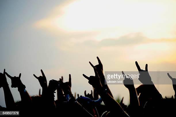 Publikum beim Wacken Open Air 2012 Festivalstimmung Publikum