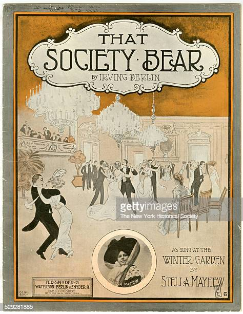 published by Ted Snyder Co Watson Berlin Snyder Co New York 1912 Lithograph by Gene Buck Composed by Irving Berlin