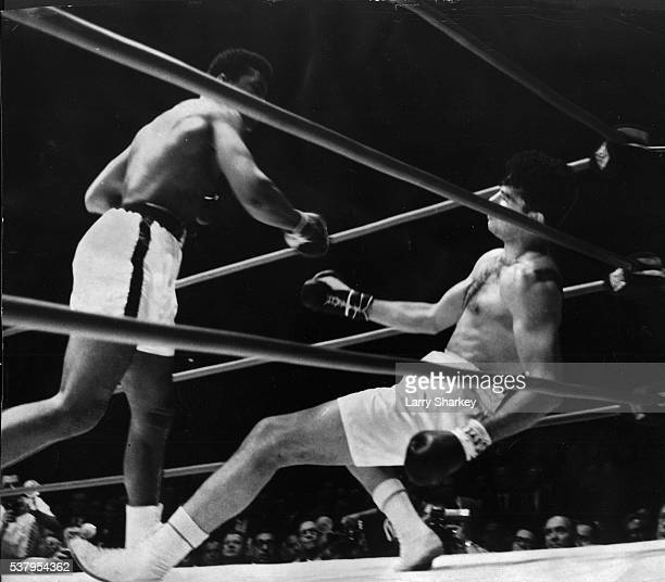 July 21 1962FEAT OF CLAYCassius Clay left makes good his prediction by knocking out Alejandro Lavorante in the fifth round Friday night at the Sports...