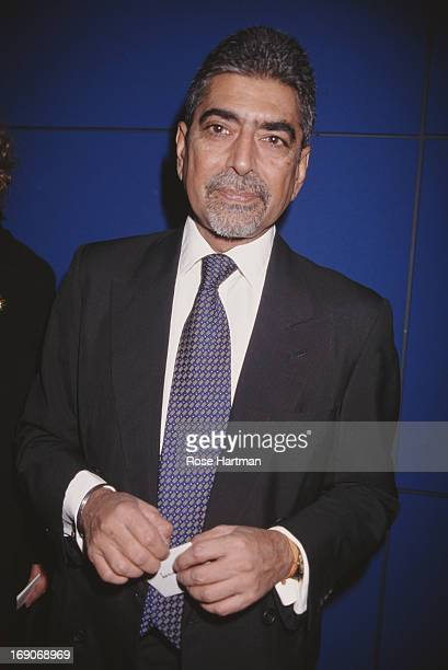 Publisher and editorinchief of Alfred A Knopf Sonny Mehta circa 1995