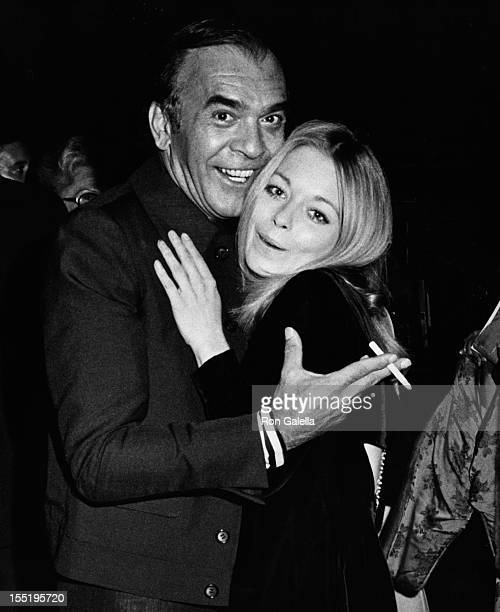 Publisher Bill Como and actress Jill Haworth attend Jim Bailey Opening on September 11 1973 at the Waldorf Astoria Hotel in New York City