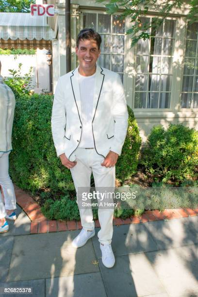 NY publisher Dan Hall attends BELLA New York's Fifth Annual Hamptons White Party at Southampton Social Club on August 5 2017 in Southampton New York