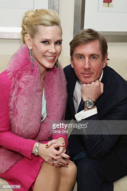 CEO Publisher EditorinChief at Old Fashioned Mom Magazine MichelleMarie Heinemann and HSH Prince Charles Henri Lobkowicz attend an evening of glamour...