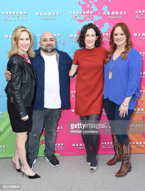 Publisher Food Network Magazine Vicki Wellington, Duff Goldman, Editor in Chief of Food Network Magazine Maile Carpenter and Ree Drummond attend...