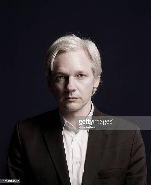 Publisher, journalist and editor-in-chief of the website WikiLeaks, Julian Assange is photographed for Time magazine July 27, 2010 in London, England.