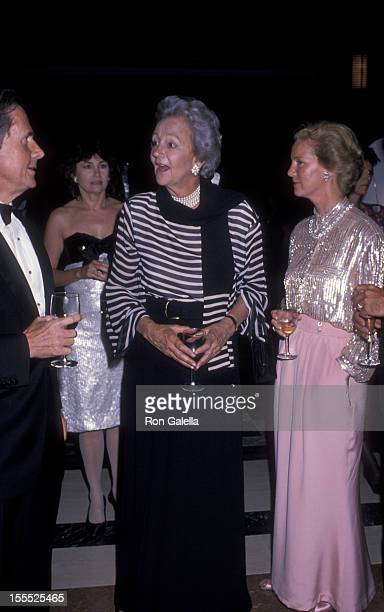 Publisher Katharine Graham attends 100th Anniversary Party for The WallStreet Journal on June 22 1989 at the World Financial Center in New York City