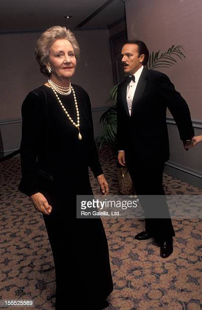 Publisher Katharine Graham attends 38th Annual Cerebral Palsy Humanitarian Awards on December 15 1992 at the New York Hilton Hotel in New York City