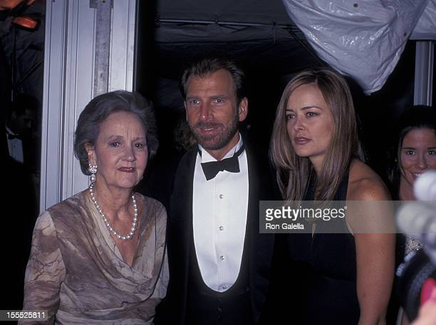 Publisher Katharine Graham media mogul Edgar Bronfman Jr and wife Clarissa Bronfman attend 15th Annual Council of Fashion Designers of America Awards...