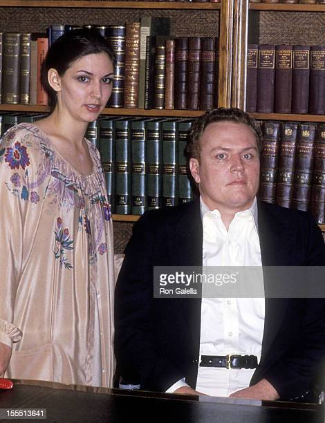 Publisher Larry Flynt and wife Althea Leasure on March 11, 1979 pose for exclusive photographs at their home in Los Angeles, California.