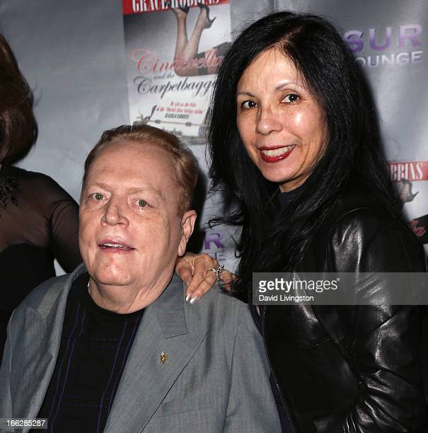 Publisher Larry Flynt and wife Elizabeth Berrios attend a book party for Grace Robbins' memoir Cinderella and the Carpetbagger My Life as the Wife of...