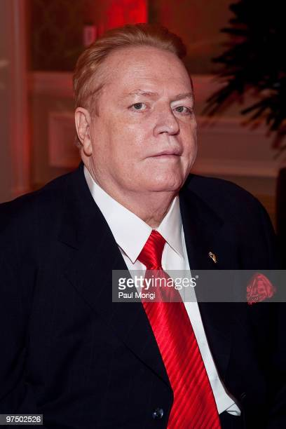 Publisher Larry Flynt at the 2010 An Evening with Larry King and Friends Gala at the Ritz-Carlton Hotel on March 6, 2010 in Washington, DC.