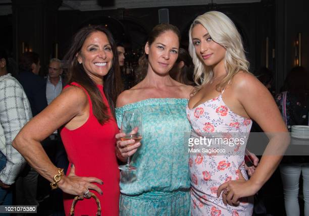 Publisher Lynn Scotti Victoria Moran and Anna Kassar attend the Hamptons Magazine Celebration with Caroline Wozniacki Presented By Matthew...
