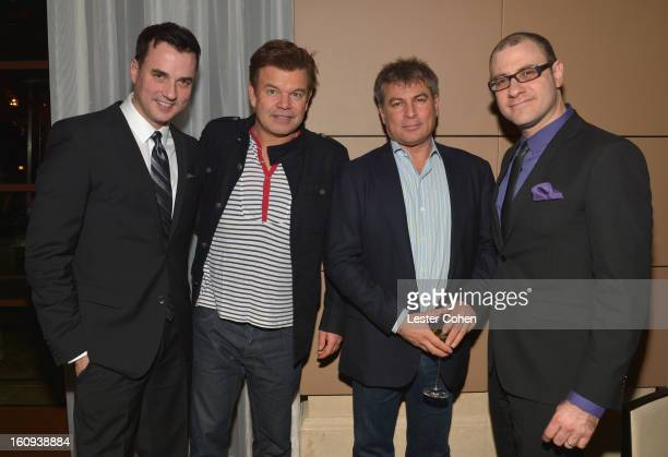 Publisher of Billboard magazine Tommy Page Paul Oakenfold founder coCEO of AAM Andy Kipnes and Editorial Director of Billboard magazine Bill Werde...