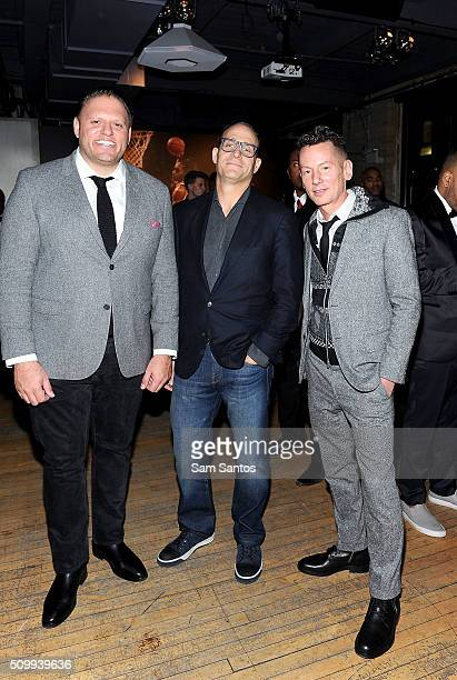 Publisher of GQ Howard Mitman President of Saks 5th Avenue Marc Metrick and Editor in Chief of GQ Jim Nelson attend the GQ Saks Fifth Avenue And...