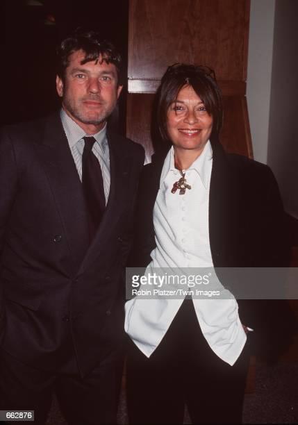 Publisher of Rolling Stone magazine Jann Wenner and his wife Jane Schindelheim attend Amnesty International's Fourth Annual Media Spotlight Awards...
