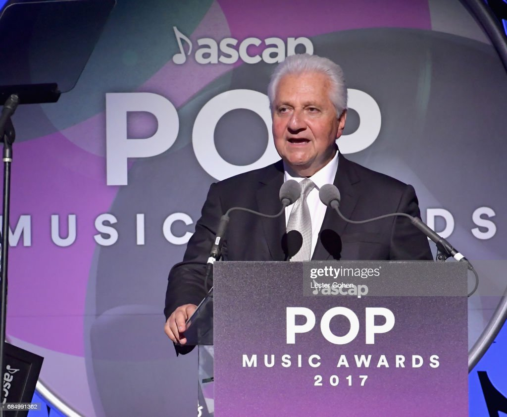 Publisher of the Year -Sony/ATV Music Publishing Martin Bandier onstage at the 2017 ASCAP Pop Awards at The Wiltern on May 18, 2017 in Los Angeles, California.