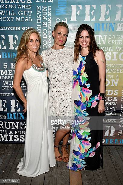 Publisher of Women's Health Laura FrererSchmidt actress Molly Simms and EditorinChief of Womens Health magazine Amy Keller Laird attend the Women's...